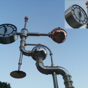 Steam Punk Clock RA