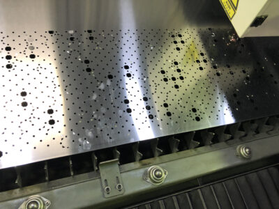 Laser Cutting fine detail